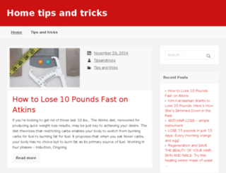 home-tipsandtricks.com screenshot