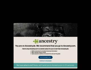home.ancestry.de screenshot