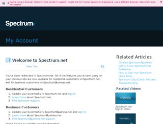 home.bresnan.net screenshot