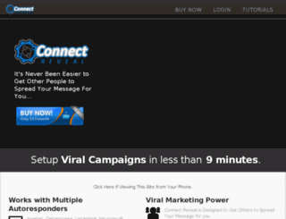 home.connectreveal.com screenshot
