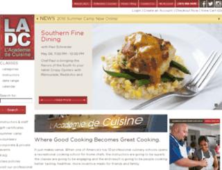 home.lacademie.com screenshot