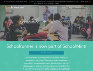 home.schoolrunner.org screenshot