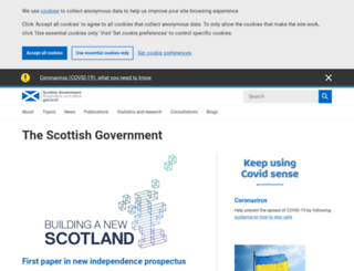 home.scotland.gov.uk screenshot