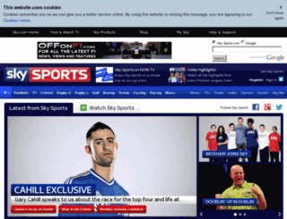 home.skysports.com screenshot