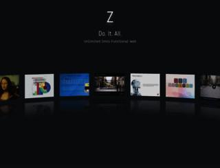 home.zcubes.com screenshot