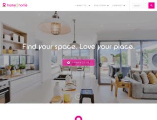 home2home.com.au screenshot