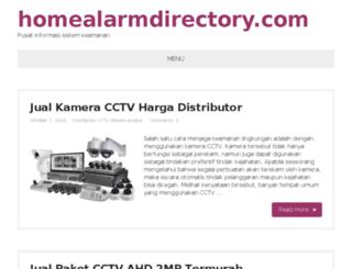 homealarmdirectory.com screenshot