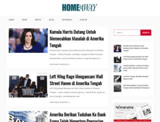 homeandawaymagazine.com screenshot