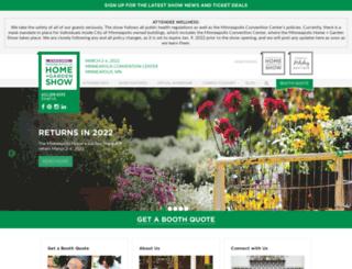 homeandgardenshow.com screenshot