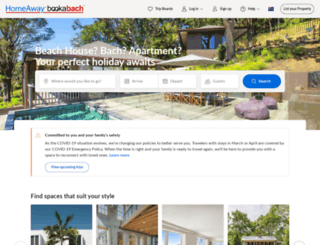 homeaway.co.nz screenshot