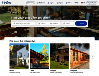 homeaway.co.uk screenshot