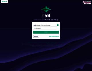 homebank.tsbbank.co.nz screenshot