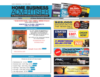 homebusinessadvertiser.com screenshot