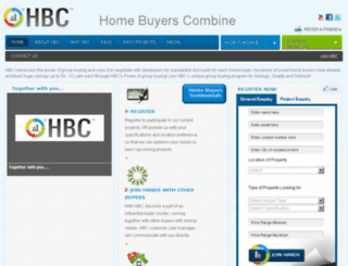 homebuyerscombine.com screenshot