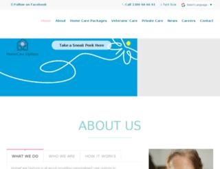 homecareoptions.com.au screenshot