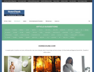 homechunk.com screenshot