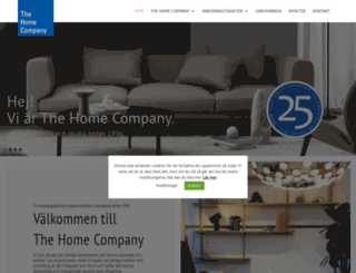 homecompany.se screenshot