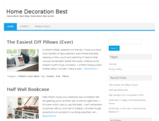 homedecorationbest.com screenshot