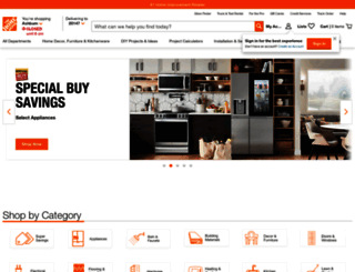 homedepot.com screenshot