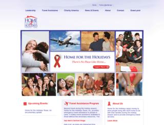 homefortheholidaystexas.org screenshot