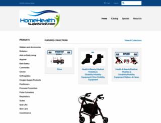 homehealthsuperstore.com screenshot