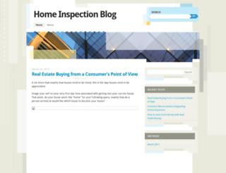 homeinspectionblog.wordpress.com screenshot
