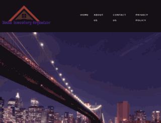 homeinventoryorganizer.com screenshot