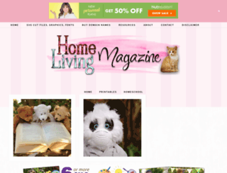 homelivingmagazine.com screenshot