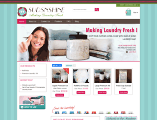 homemade-laundry-soap.com screenshot