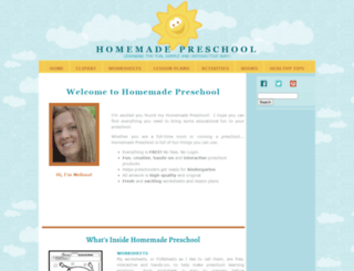homemade-preschool.com screenshot