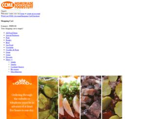 homemadefoodstuff.com screenshot