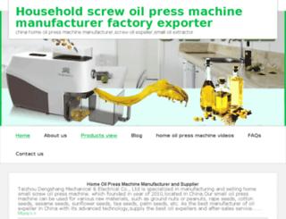 homeoilpress.net screenshot