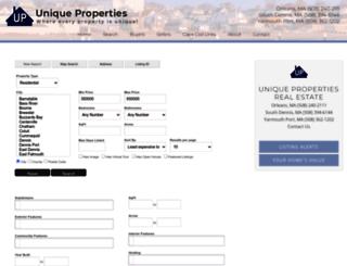 homeoncape.idxbroker.com screenshot