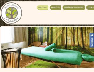 homeorganicmassage.ie screenshot