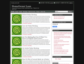 homeowner-loanss.blogspot.com screenshot