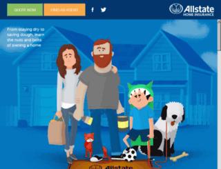homeowners.allstateonline.com screenshot