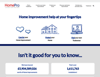 homepro.com screenshot