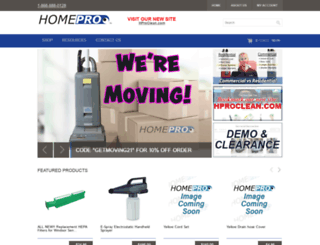 homeprovacuum.com screenshot