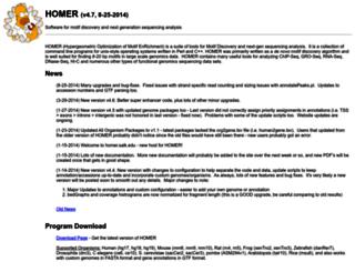 homer.salk.edu screenshot