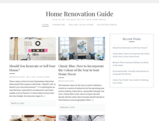 homerenovationguide.com screenshot