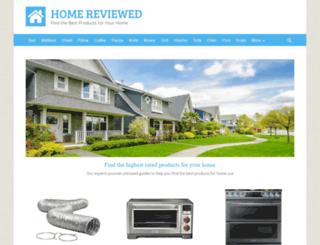 homereviewed.com screenshot