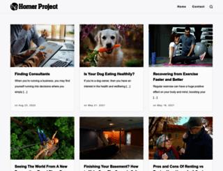 homerproject.org screenshot