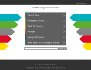 homerpugalicious.com screenshot