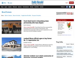 homes.dailyherald.com screenshot