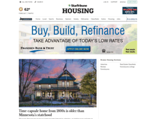 homes.startribune.com screenshot