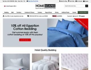 homescapesonline.com screenshot