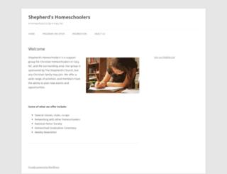 homeschool.colonial.org screenshot