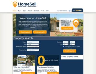 homesell.co.nz screenshot