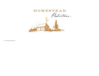 homesteadprods.com screenshot