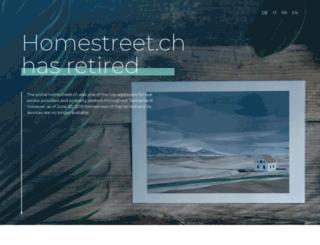 homestreet.ch screenshot